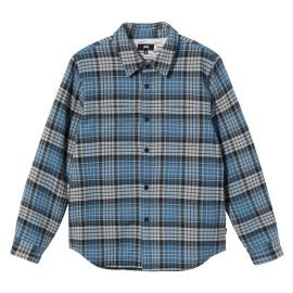 Quilted Lined Plaid Shirt