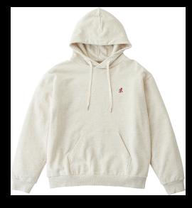 One Point Hooded Sweatshirt
