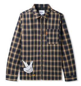 Gullwing Plaid Zip Shirt