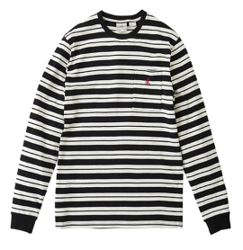 Striped-One-Point-Ls-Tee