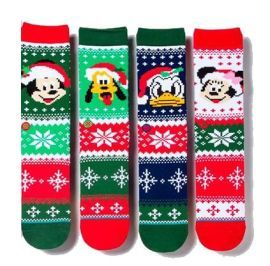 Disney Claus Socks
